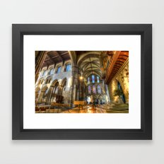 Rochester Cathedral Framed Art Print