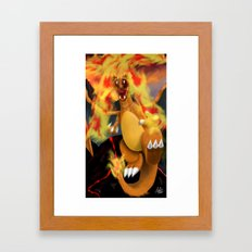 Fire Blast! Framed Art Print