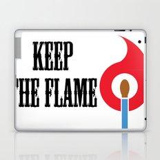 Keep the Flame Laptop & iPad Skin