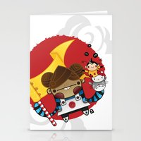 Chestnut + Kiiroihankachi cause we will not forget!!! Stationery Cards