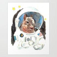 Astronut Art Print