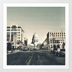 Madison, Wisconsin Art Print