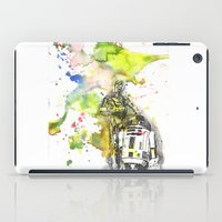 C3PO And R2D2 From Star … iPad Case