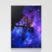 Into  The Space Stationery Cards