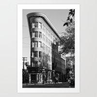 Gastown Vancouver Art Print