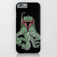 iPhone Cases featuring Fetthulhu by Hillary White