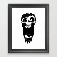 Ghost of a Whaler Framed Art Print