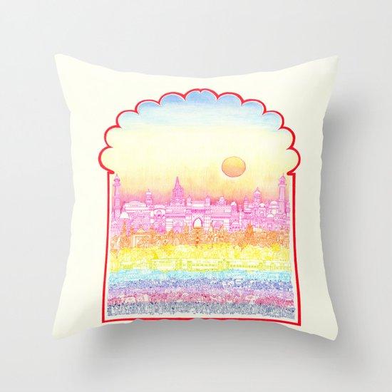 Rangeela India  Throw Pillow