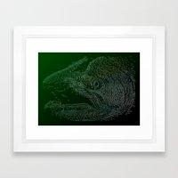 Chinook Hooks #1 Framed Art Print