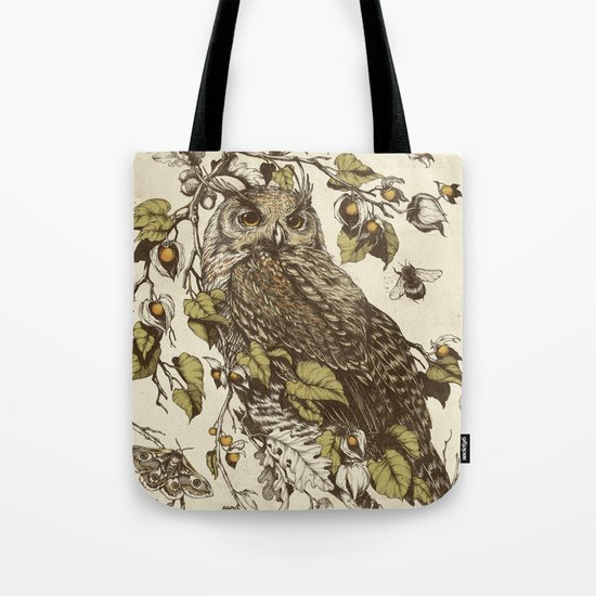 Great Horned Owl Tote Bag