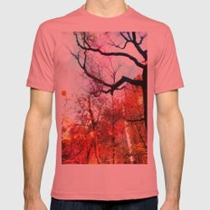 Color Blocked SMALL Pomegranate Mens Fitted Tee