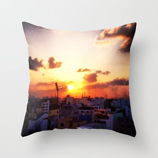 Beautiful Concrete Throw Pillow