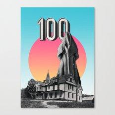 100 Nuns Canvas Print