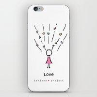 LOVE by ISHISHA PROJECT iPhone & iPod Skin