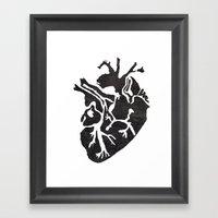 Only Love Framed Art Print