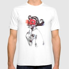 The Demon Queen Mens Fitted Tee SMALL White