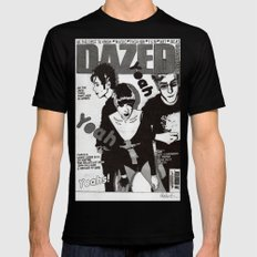 Yeah's Black SMALL Mens Fitted Tee