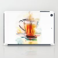 Black tea iPad Case