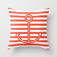 Sailing forward Throw Pillow