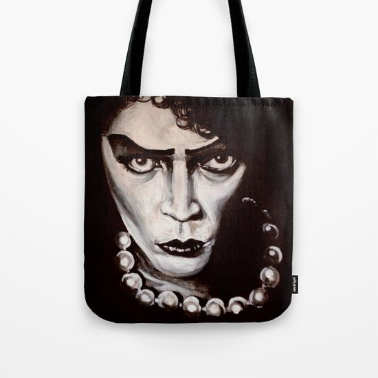 "Rocky Horror Picture Show ""Sweet Transvestite"" Tote Bag"
