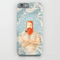 wave iPhone & iPod Cases featuring Sailor by Seaside Spirit