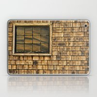Window and cedar wall Laptop & iPad Skin
