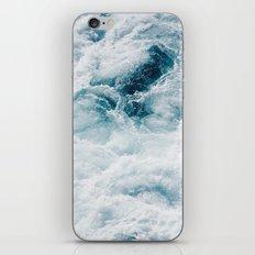sea - midnight blue storm iPhone & iPod Skin