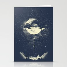 MOON CLIMBING Stationery Cards