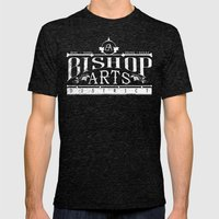 Bishop Arts District Mens Fitted Tee Tri-Black SMALL