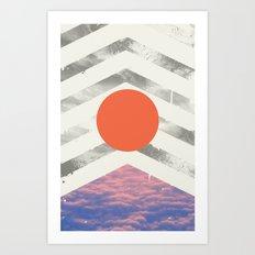 Vojaĝo Art Print
