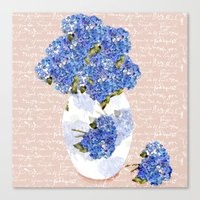 Afternoon Bouquet Canvas Print