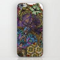 Psychedelic Botanical 8 iPhone & iPod Skin