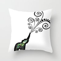 dreaming big Throw Pillow