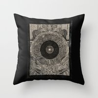 When the Past Was Present Throw Pillow