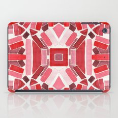 warm color pattern iPad Case