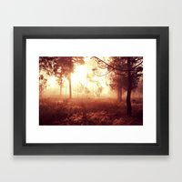 My autumn Framed Art Print