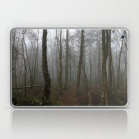 Foggy Woods Laptop & iPad Skin