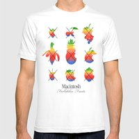 mac forbidden fruits Mens Fitted Tee White SMALL