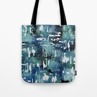 Mystic Cloud: Teal Tote Bag