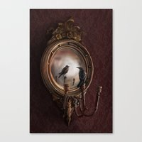 Brooke Figer - Reflection on Perception Canvas Print