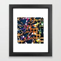 Plastic Polka Dot Patter… Framed Art Print