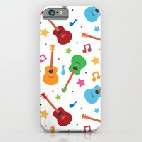 iPhone & iPod Case featuring Guitars and Stars by Matt Andrews