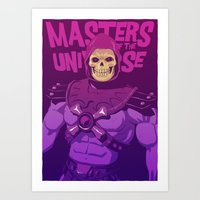 Masters Of The Universe … Art Print