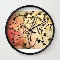 Look Up Nature Abstract 1 Wall Clock