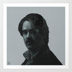 True Detective Ray Velcoro portrait Art Print