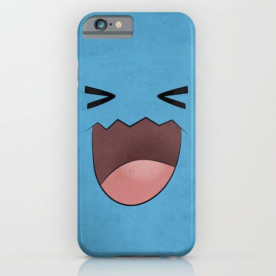 Wobbuffet Design - Minimalistic Poster iPhone & iPod Case