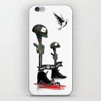 War Peace iPhone & iPod Skin