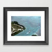 belize Framed Art Print