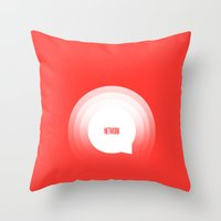 Network Throw Pillow