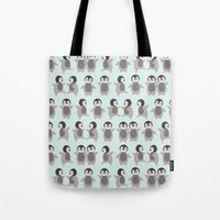 Just Penguins Tote Bag